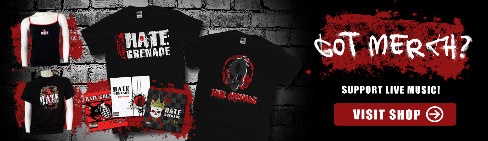 Hate Grenade - Shop Online