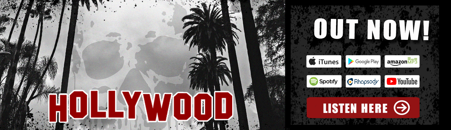 Hate Grenade's 2021 single release, 'Hollywood'.  Available everywhere through all major distribution platforms!