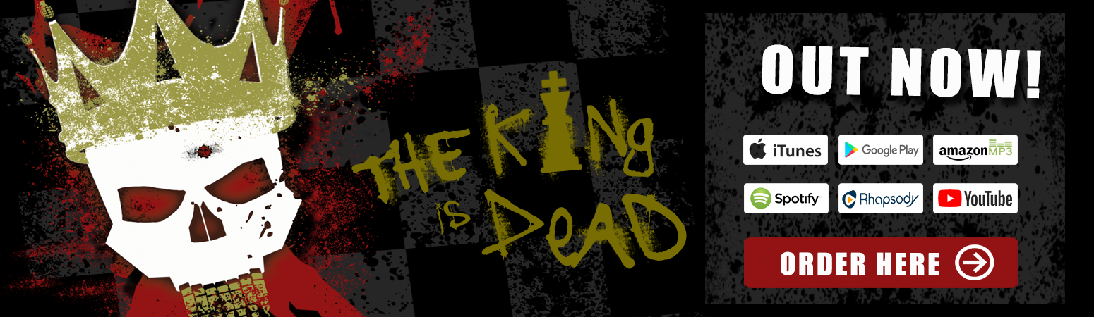 Hate Grenade - The King is Dead (2018)