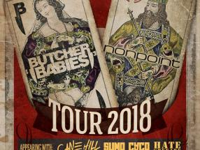 Kings & Queens Tour 2018 - Butcher Babies, Nonpoint, Cane Hill, Sumo Cyco and HATE GRENADE (May 7th, 2018 - Club REVERB - Reading, PA