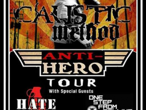 Rize of the Anti-Hero Tour (Caustic Method, Hate Grenade, One Step from Falling) - Summer 2017