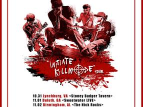 Hate Grenade is going on tour this fall; stops include VA, AL, GA, FL, and PA!