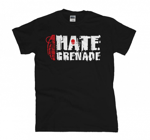 Hate Grenade - Red Skull T-Shirt